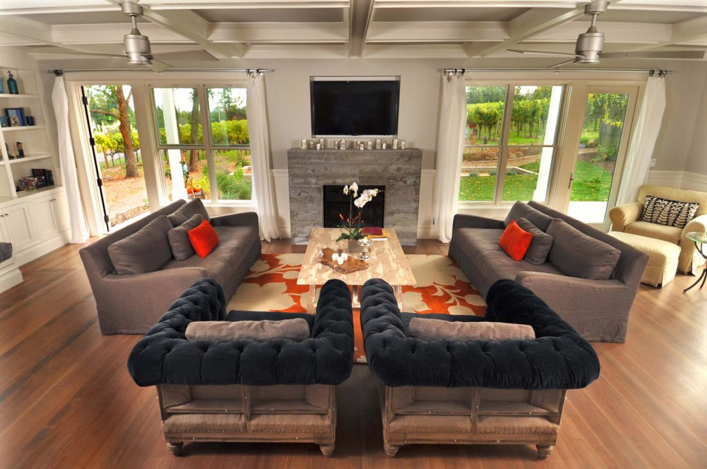 Main House | If you watch TV in the living room, does that make it a theater?